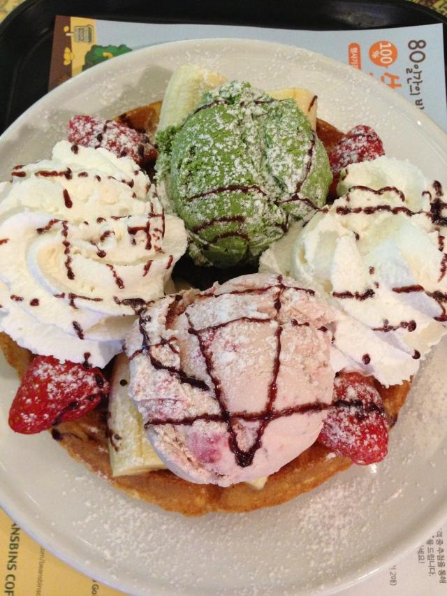 嘩!! Heavenly waffle !